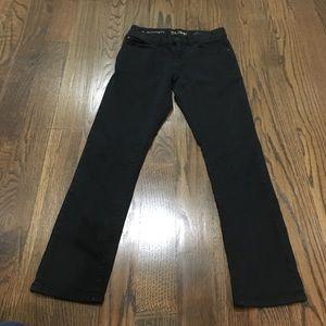 DL1961 Boy's Brady Slim Black Jean - Size 10